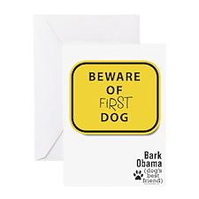 Obama Dog Greeting Card