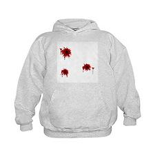 Bloody Bullet Hole Hoodie