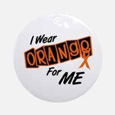 I Wear Orange For ME 8 Ornament (Round)