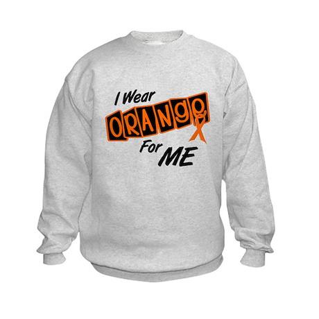 I Wear Orange For ME 8 Kids Sweatshirt