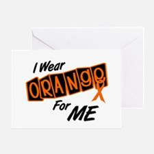I Wear Orange For ME 8 Greeting Card