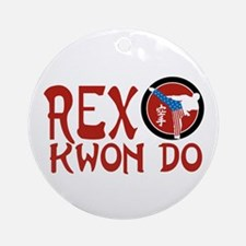Rex Kwon Do Ornament (Round)