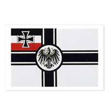 Unique German flag Postcards (Package of 8)
