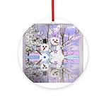Winter Wonderland Ornament (Round)