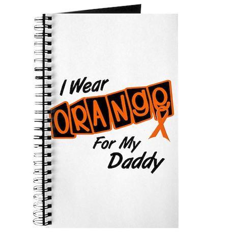 I Wear Orange For My Daddy 8 Journal