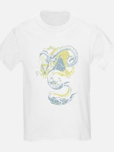 Vintage Chinese Dragon Design T-Shirt