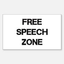 Free Speech Decal