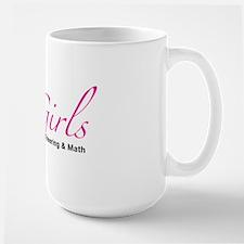 STEMGirls Logo Gear Large Mug