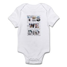Yes We Did: Historic Obama Ne Infant Bodysuit