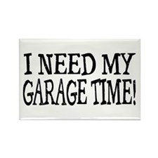 Garage Time Rectangle Magnet