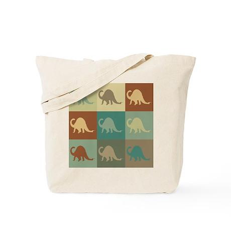 Paleontology Pop Art Tote Bag