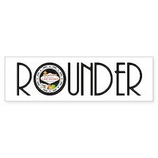 Poker Rounder Bumper Bumper Sticker