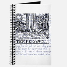 Tarot Key 14 - Temperance Journal