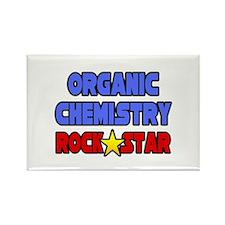 """Organic Chemistry Rock Star"" Rectangle Magnet"