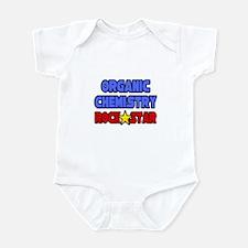 """Organic Chemistry Rock Star"" Infant Bodysuit"