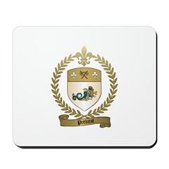 PROVOST Family Crest Mousepad