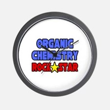 """Organic Chemistry Rock Star"" Wall Clock"