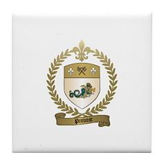 PROVOST Family Crest Tile Coaster