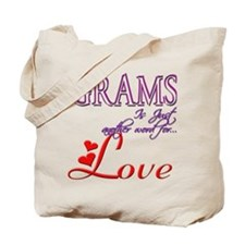 Grams Means Love Gift Tote Bag