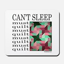 QUILT/QUILTING Mousepad