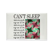 QUILT/QUILTING Rectangle Magnet
