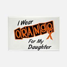 I Wear Orange For My Daughter 8 Rectangle Magnet