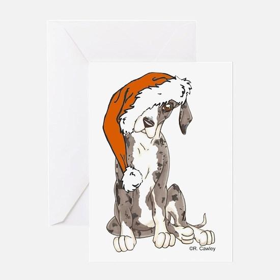 Santa's Hat 1 Greeting Card