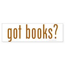 Got Books? Bumper Bumper Sticker