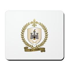 QUENNEVILLE Family Crest Mousepad