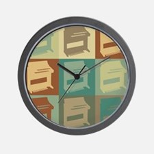 Organ Pop Art Wall Clock