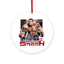 Reagan Smash Ornament (Round)