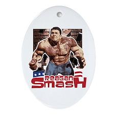 Reagan Smash Oval Ornament