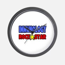 """Immunology Rock Star"" Wall Clock"