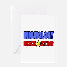 """Immunology Rock Star"" Greeting Card"