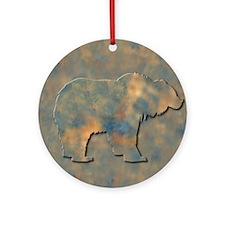 Bear Ornament (Round)