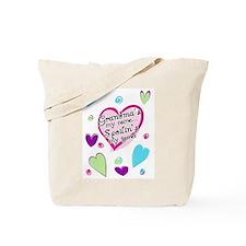 Grandma's my name spoilin's Tote Bag