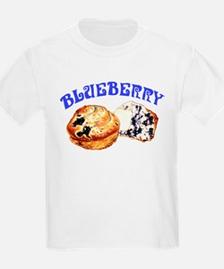 Painted Blueberry Muffins T-Shirt