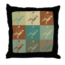 Oral Surgery Pop Art Throw Pillow