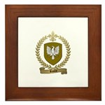 RACOIS Family Crest Framed Tile