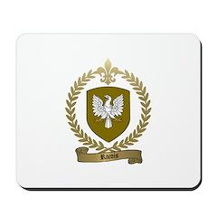 RACOIS Family Crest Mousepad