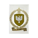 RACOIS Family Crest Rectangle Magnet