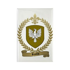 RACOIS Family Crest Rectangle Magnet (100 pack)
