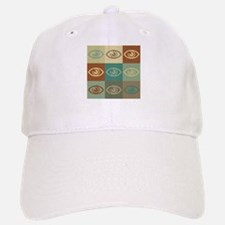Optometry Pop Art Baseball Baseball Cap