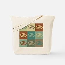 Optometry Pop Art Tote Bag