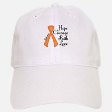 Hope Courage Faith Love LEUKEMIA Baseball Baseball Cap