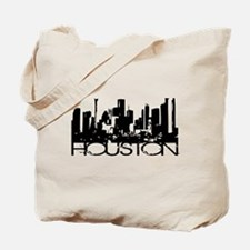 Houston Texas Downtown Graphi Tote Bag