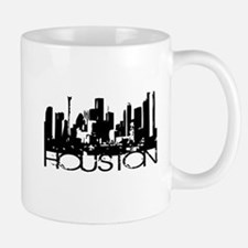 Houston Texas Downtown Graphi Mug