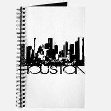 Houston Texas Downtown Graphi Journal