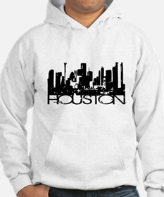 Houston Texas Downtown Graphi Jumper Hoody