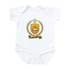RAIMBAUD Family Crest Infant Creeper